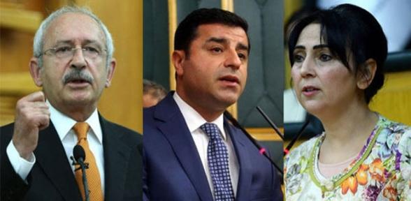 HDPden Kılıçdaroğluna geçmiş olsun telefonu